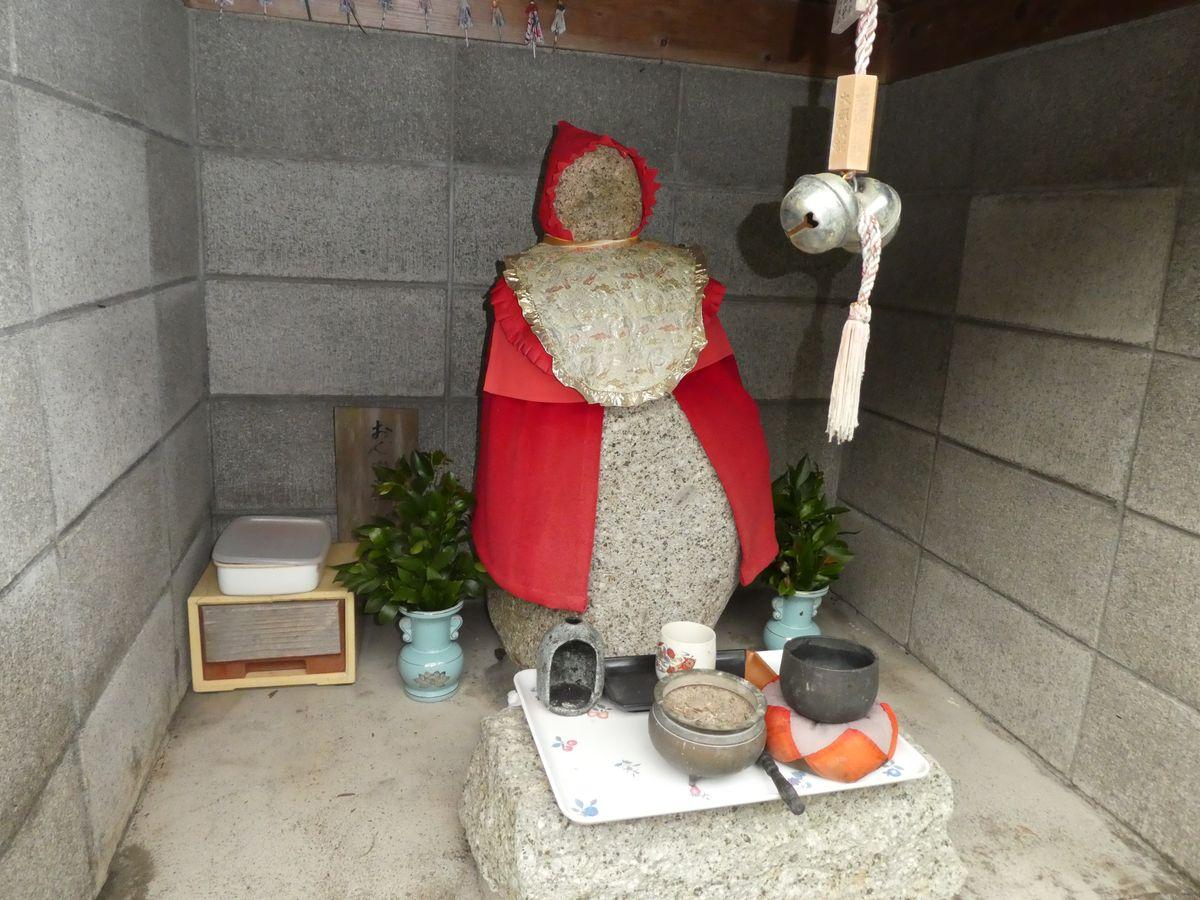 「二木島の津浪地蔵」(三重県熊野市)の写真