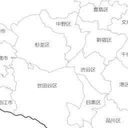 みんなの知識 ちょっと便利帳 白地図を見る 国土地理院地図 Pcサイズ版