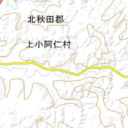 上 小 阿仁 村