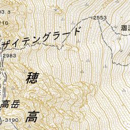 日本の山岳標高1003山 地図インフォ